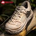 Hk à prova dhk água respirável couro do exército militar tático botas caminhadas sapatos homens ao ar livre esporte deserto trekking escalada tênis