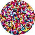 Оптовая продажа, красочные разноцветные бусины из чешского стекла 3 мм, 500 шт. для браслетов, ожерелий, серег, ювелирных изделий, бисер «сдела...