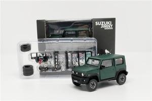 Image 2 - 1:64 BM Creations Suzuki Jimny (JB74) Matte Grey w/accessory pack Right Hand Drive Diecast Model Car