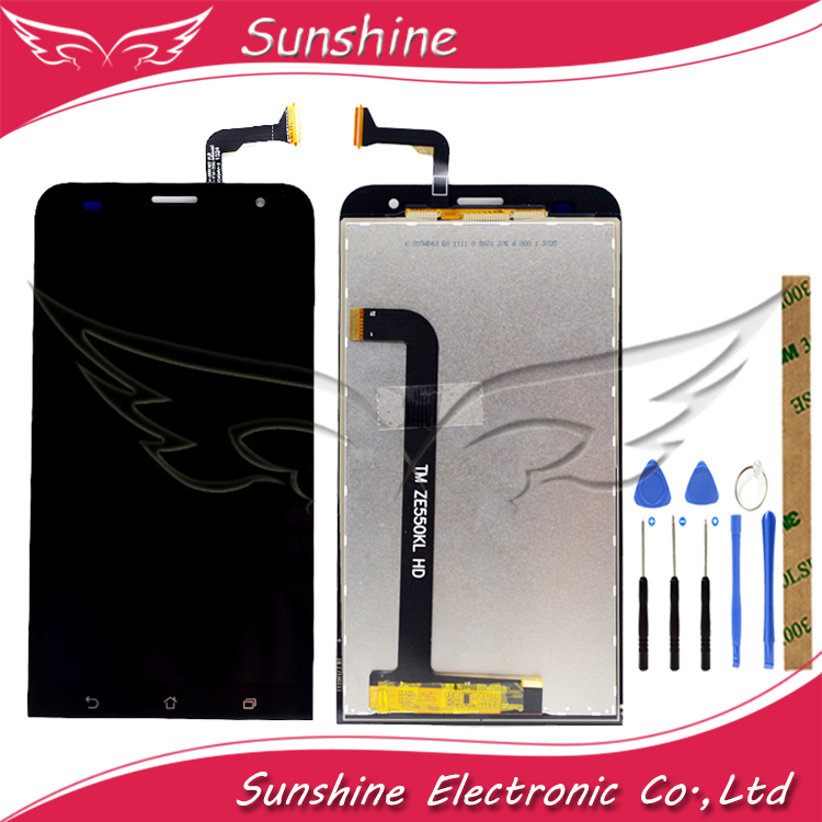 100% Tested One By One <font><b>LCD</b></font> For ASUS Zenfone 2 Laser Z00LD <font><b>ZE550KL</b></font> <font><b>LCD</b></font> Display Screen Touch Digitizer Panel Assembly image