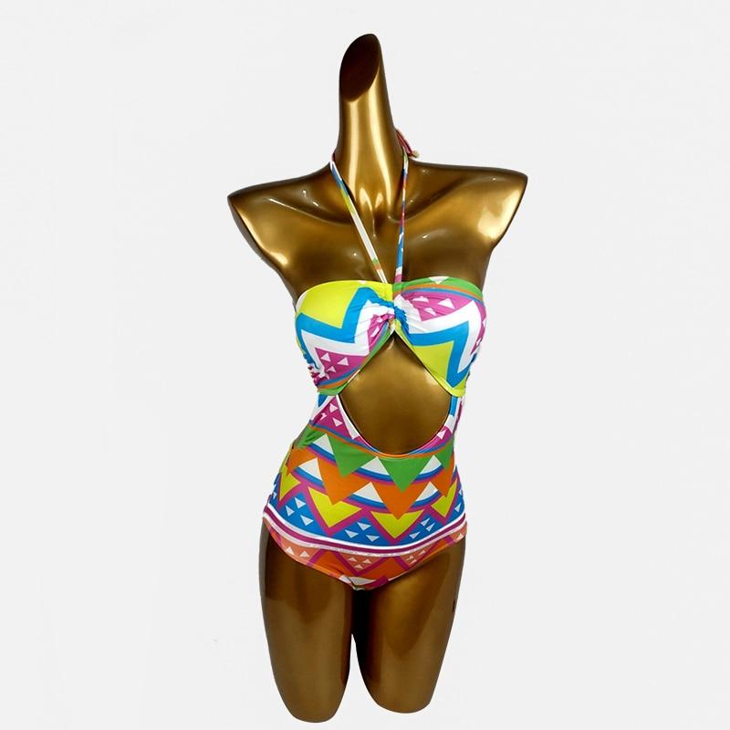 2019 nouveau Style une pièce maillots de bain monokini sexy body maillot de bain une pièce push up sport maillot de bain femmes