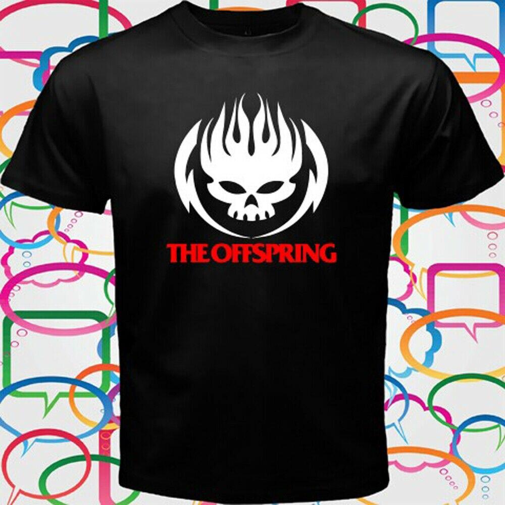 THE OFFSPRING Logo Rock Band Men/'s White T-Shirt Size S to 3XL