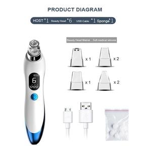 Image 3 - 真空ポアクリーナーフェイスクリーニングにきび除去ツールにきび毛穴にきび除去洗顔美容顔マシン