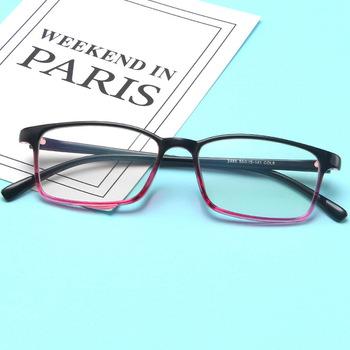 KOTTDO Vintage Square ramki okularów korekcyjnych dla mężczyzn moda klasyczne plastikowe oprawki do okularów ramki okularów kobiet 2020 tanie i dobre opinie Unisex Z tworzywa sztucznego Stałe 2460
