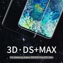 สำหรับ Samsung Galaxy S20 แก้ว NILLKIN 3D DS MAX สำหรับ Samsung S20 PLUS สำหรับ Galaxy S20 Ultra Tempered แก้ว 9H ปลอดภัย