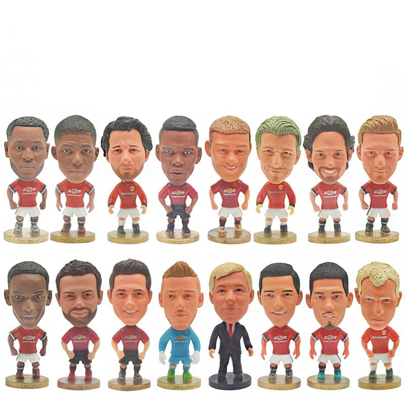 Soccerwe Soccer Star Player Action Figure Model Toys Manchester Football Star Dolls