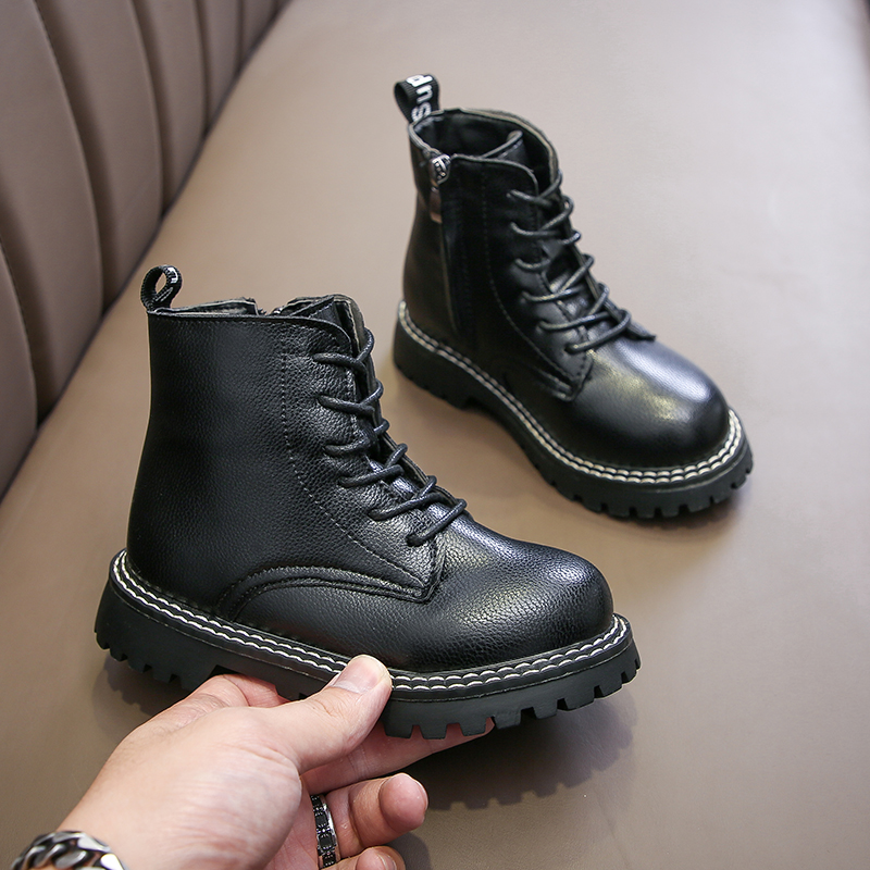 2019 Fashion Winter Kids Warm School Boots Girls Waterproof Children Snow Boots Girls Sneakers Shoes 4 5 6 7 8 9 10 11 12 Year