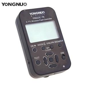Image 3 - 永諾 YN 622C TX YN622C TX 液晶ワイヤレス e ttl フラッシュコントローラ 1/8000 8000s フラッシュトリガー用一眼レフカメラ