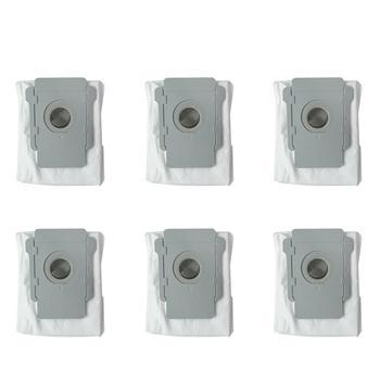 6 sztuk odkurzacz woreczek pyłowy worki filtracyjne do irobot roomba i7 i7 + Plus E5 E6 próżni robota czyste bazą wypadową brud do państwa dyspozycji w celu uzyskania