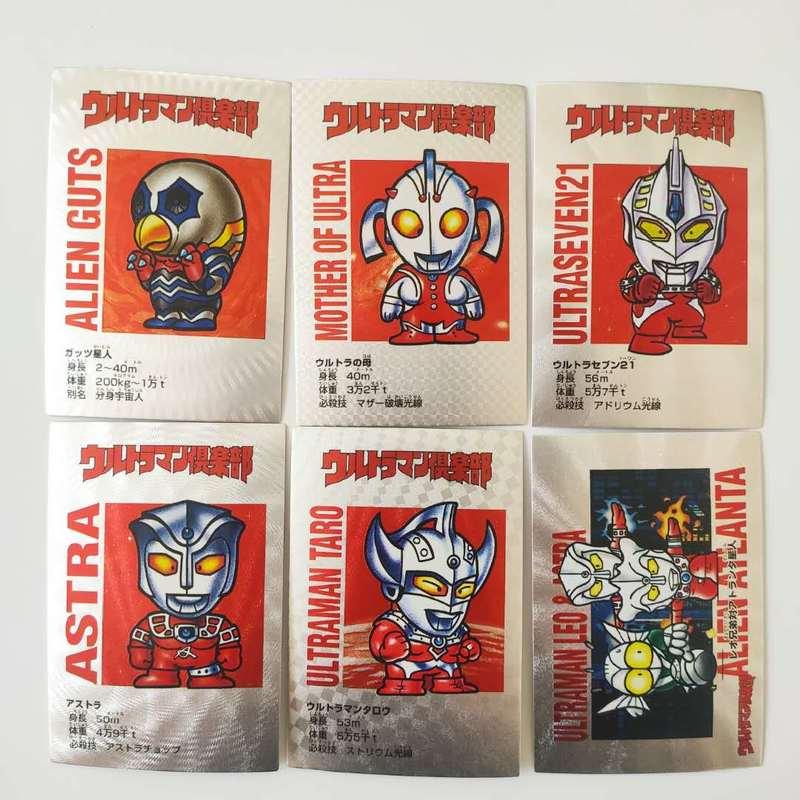 18pcs/set Ultraman Q Ace Ultraman Taro Toys Hobbies Hobby Collectibles Game Collection Cards Poker Limit Free Shipping