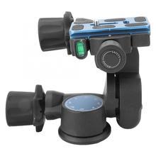 حامل ثلاثي من BENRO طراز GD3WH مع رأس حامل ثلاثي الأبعاد مع حامل ثلاثي الأبعاد للتصوير الفوتوغرافي بدرجة 360 درجة مع حامل ثلاثي القوائم مع منصة انحراف لكاميرا DSLR