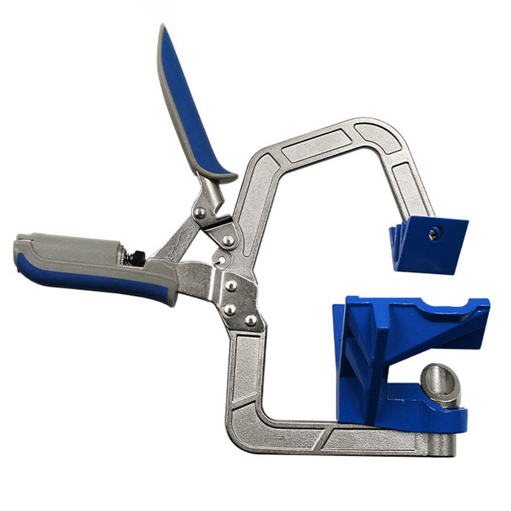 Multifunctional Auto-adjustable 90 Degree Corner Face Frame Clamp Woodworking Right Angle Clip Fit Fix Tool