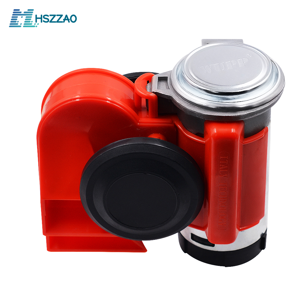 12V Car And Motorcycle Modified Super Snail Integrated Air Horn For Car Motorcycle Truck Mounting Accessories