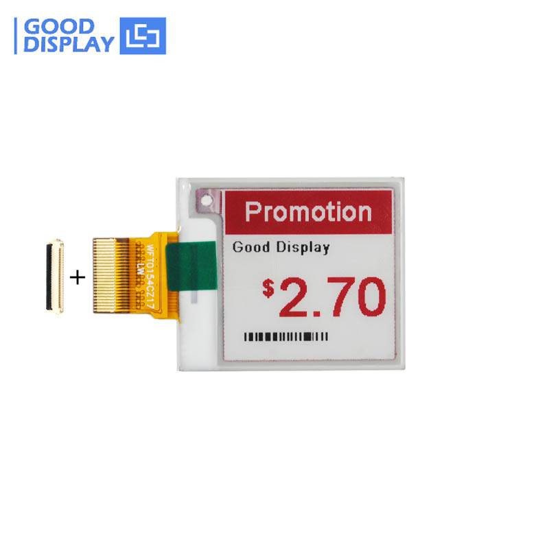 Promotion!!! New 1.54 Inch Three Color 152x152 E-paper Display Panel (5 Pieces)