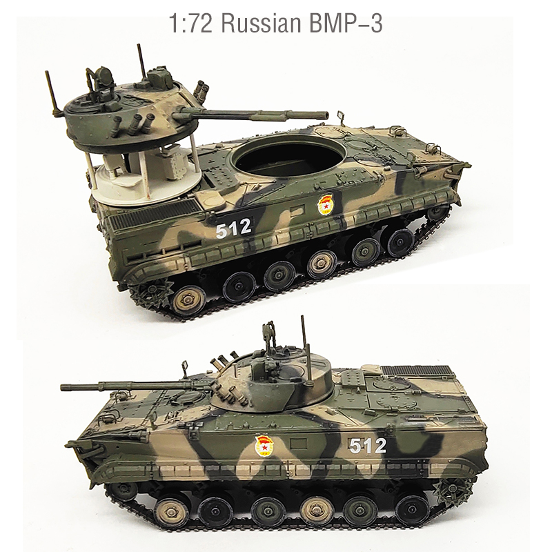1:72  Russian BMP-3 Infantry Combat Vehicle Model  Collection Finished Product Model 72151