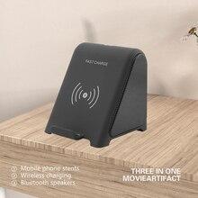 Chyi Bluetooth 3d Stereo Music Speaker Mini Combo Multifunctionele Bt Luidspreker Ondersteuning Draadloze Lading Voor Huawei Smartphone