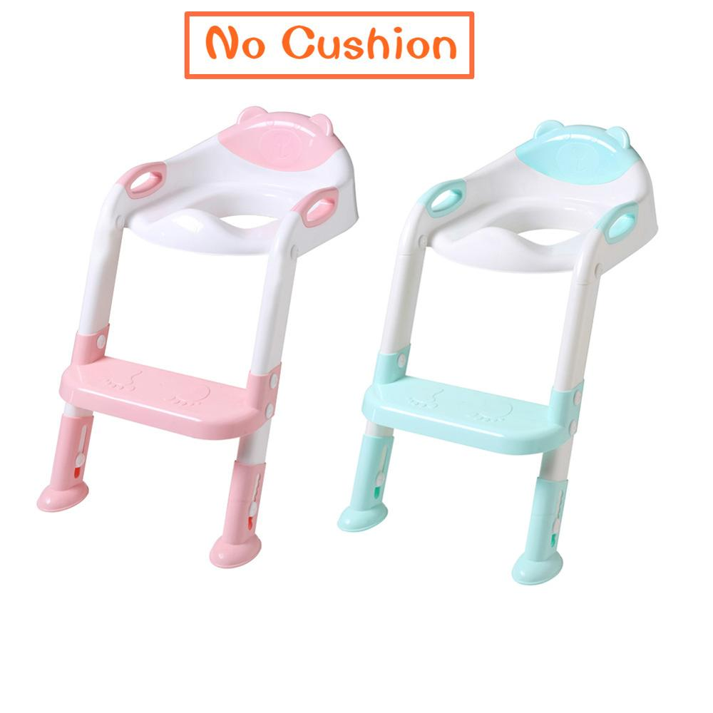 Plastic Baby Potties Seat Ring Pad Trainers Children Potty Toilet Pan Cushion Kids Toilet Seat Urinal Bathroom Supplies Articles