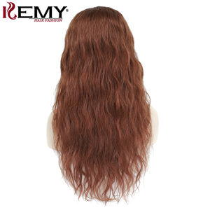 Image 5 - Brown Auburn Lace Front Human Hair Wigs Body Wave 13x4 Lace Wigs For Black Women Pre Plucked Brazilian Hair Wigs Remy Wig 150%