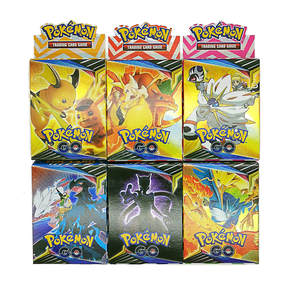 Toy Card-Box Collection Pokemon-Card Gift Battle English-Version Ptcg Kids New Per Sm11