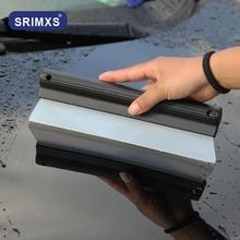 Auto Voorruit Vensterglas Zachte Siliconen Water Drogen Blade Ruitenwisser Cleaning Schraper Auto Wassen Gereedschap Voor Auto Windows