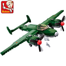 311Pcs Military Air Force WW2 Soviet Union TU-2 Bomber Fighter ARMY Figures Bricks LegoINGs Building Blocks Toys Christmas Gifts(China)