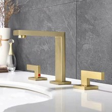 European style Gold faucet brass angle valve Bathroom Toilet kitchen High quality Copper thickened Water stop valve