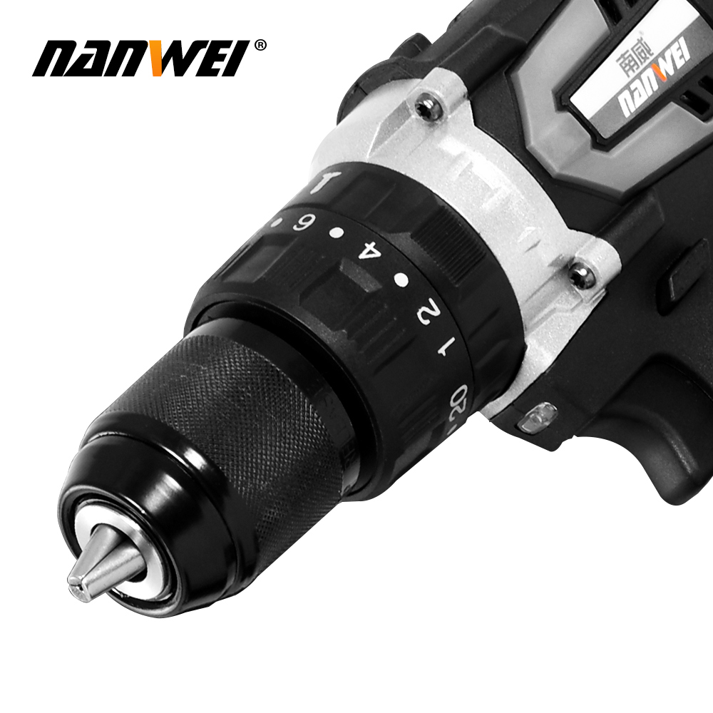 Cordless DIY 8inch Drill Driver Ion Power Batteries Hand 3 Tools Electric Impact Rechargeable Li Screwdriver