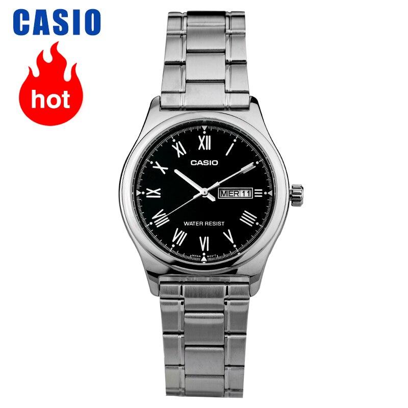 Casio Watch  Pointer Series Calendar Display Quartz Men's Watch MTP-V006D-1B