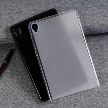 Funda protectora de silicona para tableta Lenovo Tab M8FHD, TB8705, M8HD, TB8505, 8 pulgadas, funda ultradelgada suave de TPU a prueba de golpes