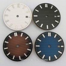 1PCS 31.5mm white black coffee blue sterile watch Dial Fit ETA 2836/2824 DG2813/3804 Miyota 8215 821A 8205 8200 movement