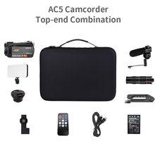 2020 Video Camera Camcorder 4k Ordro ac5 12x Optical zoom Fi
