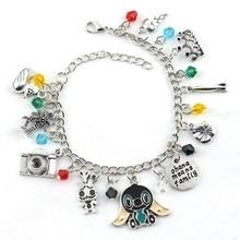 Freeshipping a Chucky Face Stephen Kings IT Penny Wise Jason Hockey Horror charm bracelet Jewelry Christmas Gift