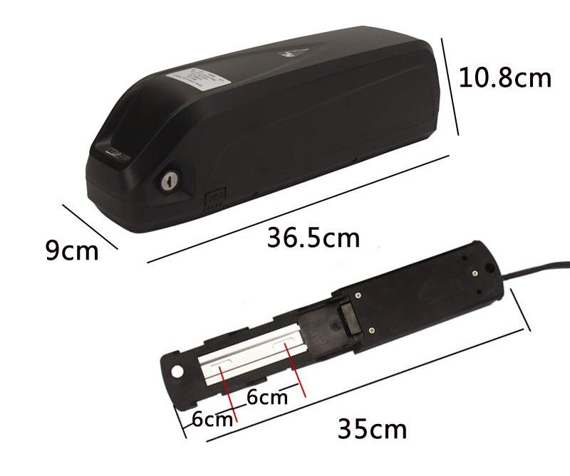 Мощность по созданию электрических транспортных средств в, 36 В, 48 В, 10Ah 12Ah 15Ah 20Ah 360Wh 480Wh 500W хайлон Батарея 18650 ячейки для е-байка для