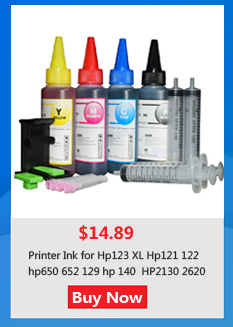 HP123 refill ink kit