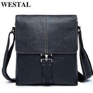 WESTAL Men's Shoulder Bag for
