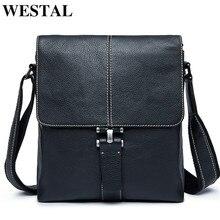 WESTAL Men's Shoulder Bag for Men Ipad F