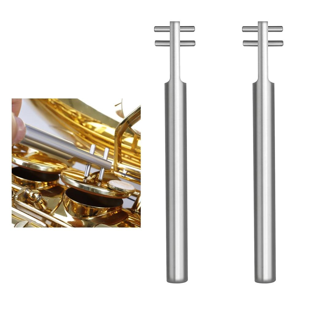 2x Wind Instrument Repair Tool Saxophone Key Cover Repair Tools Adjusting Wrench