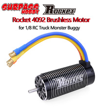 로켓 4092 4082 1550KV 1650KV 1420KV 1720KV 브러시리스 센서리스 모터 모터 1/8 RC 드리프트 레이싱 몬스터 트럭 오프로드 카