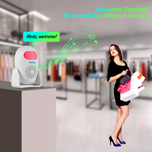 Image 2 - KERUI M120 Smart 100db PIR Infrared Anti Theft Burglar Welcome Multifunction Human Motion Detector For Garage Shop Home Security