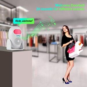 Image 2 - KERUI M120 Smart 100db PIR Infrarot Anti Diebstahl Einbrecher Willkommen Multifunktions Menschliches Motion Detektor Für Garage Shop Home Security
