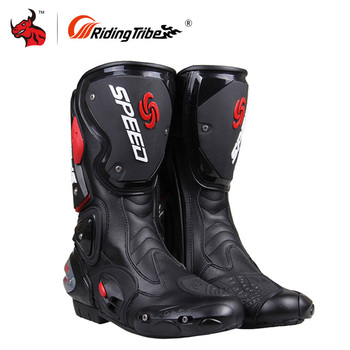 Riding Tribe Motorcycle Boots Men Moto Motocross Off-Road Boots Motorbike Racing Boots Motorcycle Shoes Botas Moto Riding Boots arcx motorcycle boots men waterproof botas moto genuine cow leather moto boots motocross boots motorcycle racing mid calf shoes
