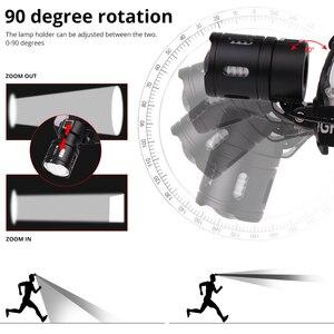 Image 5 - Xlamp XHP70.2 Led פנס USB נטענת XHP50 פנס סופר מואר V6 ציד רכיבה על אופניים מנורת שימוש עמיד למים 18650