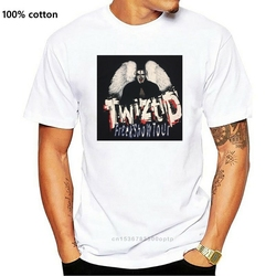 2001 Freek Show Tour Twiztid Rap 2-Sided T-Shirt Juggalo Hatchet Man Icp Clown
