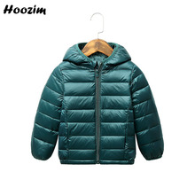 Jacket Boys Outerwear Coat Spring Ultra-Light Girls Kids To Casual Autumn Red 18M Black