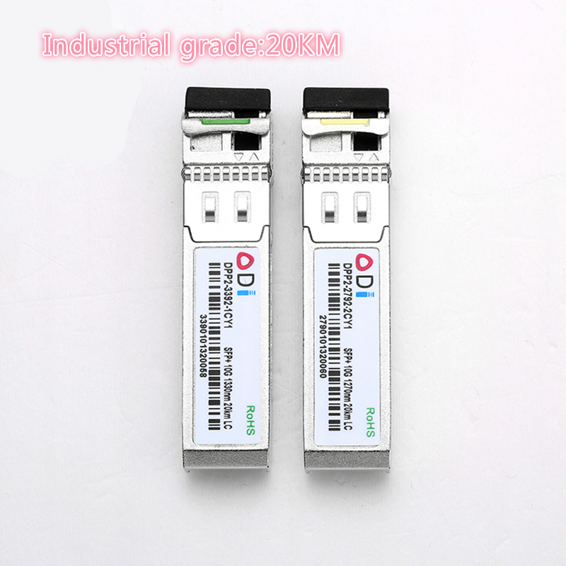 SFP 10G LC 20KM 1270nm/1330nm Industrial Grade Single Fiber SFP Optical Module SFP Transceiver   Industrial Grade -40-85 Celsius