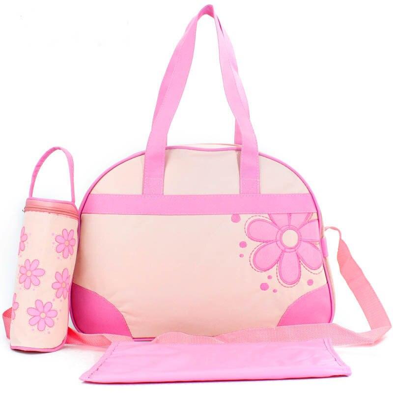 Multi-functional Mummy Bag 3 Pieces Hand Shoulder Time Of Childbirth Bag Feeder Bottle Bag Urine Pad 0.3Kg Diaper Bag