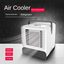 Air Cooler Anion Air Conditioner Fan Cooler Desktop Small Air Conditioner USB Mini Fan Air Conditioner Fan Cooler air usb small air conditioning appliances portable mini fans air cooler fan summer strong wind air humidifies air conditioner 1pc