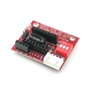 42 шаговый двигатель драйвер плата расширения DRV8825 A4988 3D принтер управления щит модуль для Arduino UNO R3 Ramps1.4 DIY Kit One Интегральные схемы      АлиЭкспресс