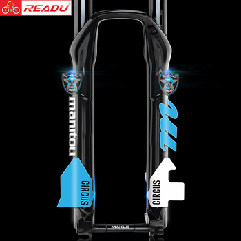READU Manitou CIRCUS Front Fork Stickers Bike Front Fork Stickers Bike Fork Decals Bicycle Decals Bicycle Accessories