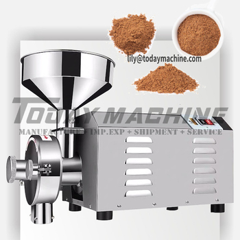 ndustrial Stainless Steel Chili Powder Soya Bean Nut Coffee Spice Grinding Electric Herb Turmeric Almond Grain Grinder Mill цена 2017